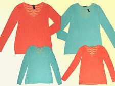 moderno Maglione da donna Pullover Pullover lavorato a maglia Tgl 36-48 a scelta