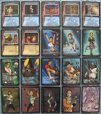 Tomb Raider Ccg Premiere Rare & Ultra Rare Cards