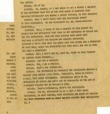 JFK John F. Kennedy Assassination Orig Teletype Oswald