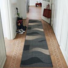TAPPETI DI corridore Sizal floorlux ONDULATE moderno Scale Larghezza 70cm-100cm