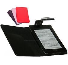 Für Amazon Kindle Touch WiFi und 3G-Case Cover Wallet mit LED Leselicht