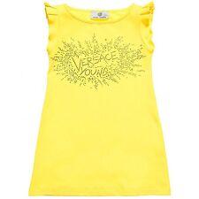 Young Versace Girls Yellow Beach Dress