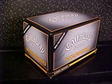 *CALLAWAY*WARBIRD*12 GOLF BALLS*DOZEN*NEW IN BOX*