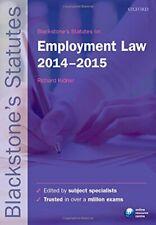 Blackstone's Statutes on Employment Law 2014-2015 (Blackstone's Statute Ser Book
