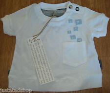 Jottum baby girl white top t-shirt BNWT 62, 80 cm 3-6, 9-12-18  dutch designer