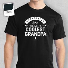 Il Nonno Buon Compleanno Regalo T Shirt & Regalo Personalizzato MONDI più grande, amore