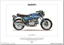 DUCATI 860GTS - Motorcycle Fine Art Print - Vee-Twin 76
