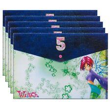 1, 5,10, 20x W.I.T.C.H. Folders Kids Artwork Manga Comic Book Stationary School