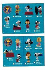 Snoopy Peanuts 3D Figures Edibas 2013 Personaggio a Scelta