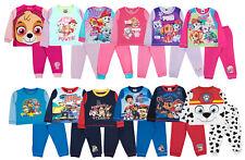 Kids Nickelodeon Paw Patrol Pyjamas Skye Chase Pjs Full Length 2 Piece Set Size
