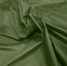 Tela de nylon verde oscuro Material Impermeable 5oz Cubierta al Aire Libre Carpa Polainas Asiento