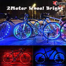 20 LED Cycling Bicycle Bike Rim Lights LED Wheel Spoke Light String Strip LaIJ