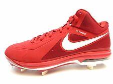 Nike Air Max MVP ELITE 3/4 Mid Fly Baseball red white 524957 610 SIZE 15