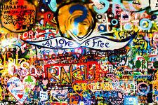 COOL GRAFFITI STREET ART CANVAS #76 CONTEMPORARY ABSTRACT POP ART WALL HANGING