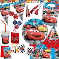 Disney Cars 2 Fête Anniversaire D'Enfant Motif Déco Coureurs Décoration