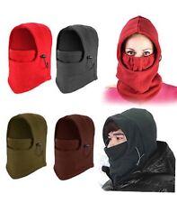 Fleece Windproof Ski Face Mask Balaclavas Hood Warm Hat for Motorcycle Snowboard
