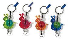 Koziol ADELAIDE Key Ring - Cute Snail Design. Unique. 2 Color Options