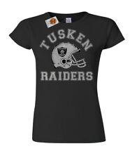 Tusken Raiders Football señoras camiseta para mujer inspirada en Star Wars Retro 50