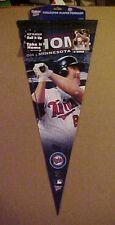 Jim Thome Minnesota Twins MLB Baseball Player LE Pennant