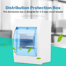 1PZ Plastica SCATOLA DI DISTRIBUZIONE Protezione per Interruttore 3-12 MODULI