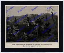 K-Flak Panzerwagen Rheinmetall Landser Artillerie 12. Isonzoschlacht Piave 1917