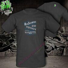 T-Shirt Old Whiskey Whisky Jim Beam Jack Daniels Bourbon Biker Outlaw Route 66