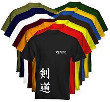 Velocitee Para Hombre Premium Camiseta Artes Marciales Kendo las opciones de colores vendedor de Reino Unido