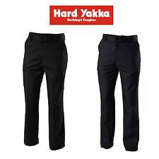 Mens Hard Yakka Cargo Workwear Pants Black Midnight Blue Safety Y02590