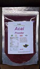ACAI BERRY 1 LB BRAZILIAN Freeze Dried SUPERFOOD Fruit POWDER PURO Acai Palm