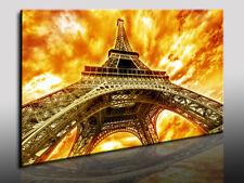 Eiffelturm Paris, Fotoleinwand24, Kunstdruck, Wandbild, Bild, Leinwandbild N7103
