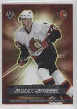 2002-03 Pacific Vanguard Prime Prospects #18 Jason Spezza Ottawa Senators Card
