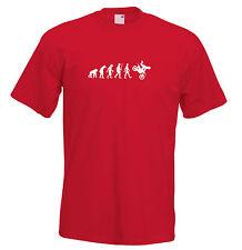 Mens evolution t shirt ape to man evolution moto cross evolution t shirt
