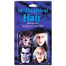 Theatrical Stick on Facial Hair Beard FX Fake Tash Halloween Cosplay Fancy Dress