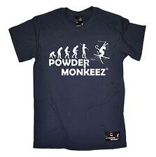 Évolution De Ski T-shirt SKI DRÔLE vêtements ski gear T-Shirt Cadeau D'Anniversaire Haut