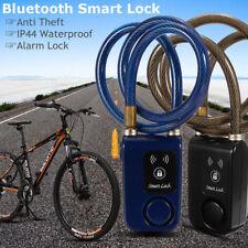 Smart Keyless Bluetooth Lock Anti Theft Alarm Chain For Bike Gate APP Control