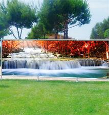 Paravento vista personalizzato,giardino,terrazza,balcone decocrazione Fiume ref