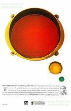 United Negro College Fund: Garrett Morgan Traffic Signal: Black History Print Ad
