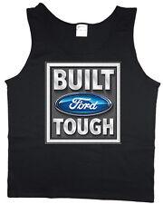 Men's tank top Built Ford Tough sleeveless tee black t-shirt
