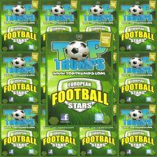 Top Trumps European Football Stars Single Cards 2012-13 – Various Teams