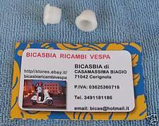 1483 2 BOCCOLE BOCCOLA IN NYLON PER COFANO MOTORE VESPA PX 125 150 200
