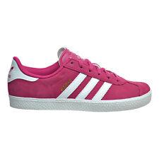 Adidas Gazelle 2 J Big Kid's Shoes Bold Pink-White-White ba9315