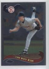 2002 Topps Chrome #559 Sun-Woo Kim Boston Red Sox Baseball Card