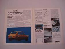 advertising Pubblicità 1971 FIAT 127