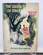 1950s Legion of Space/Jack Williamson Galaxy Sci-Fi Pulp Novel #2 - (L4868)