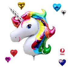 "18"" Heart /42"" Unicorn Foil Balloon Balloons Birthday Christmas Party Decoration"