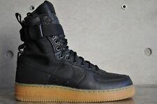 """Nike Air Force 1 SF Campo Speciale """"Black Gum"""" - Nero/Nero-Gum Marrone Chiaro"""