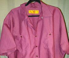 Red Kap Men's Industrial Short & Long Sleeve Work Shirt,7 COLORS/ L- XX-Large-4X