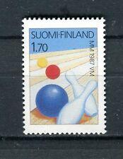 Finlandia/Finland 1987 campionato del mondo di bowling MNH
