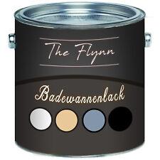 The Flynn 2K Badewannenlack Badewannenfarbe Emaille GFK Lack SET FARBAUSWAHL