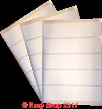 White A4 Inkjet Laser Sheets Self Adhesive Sticky Address Labels 50 x 50mm 20 up